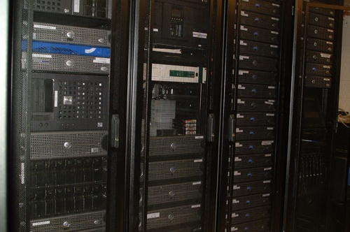 Server Room in Kresge Building