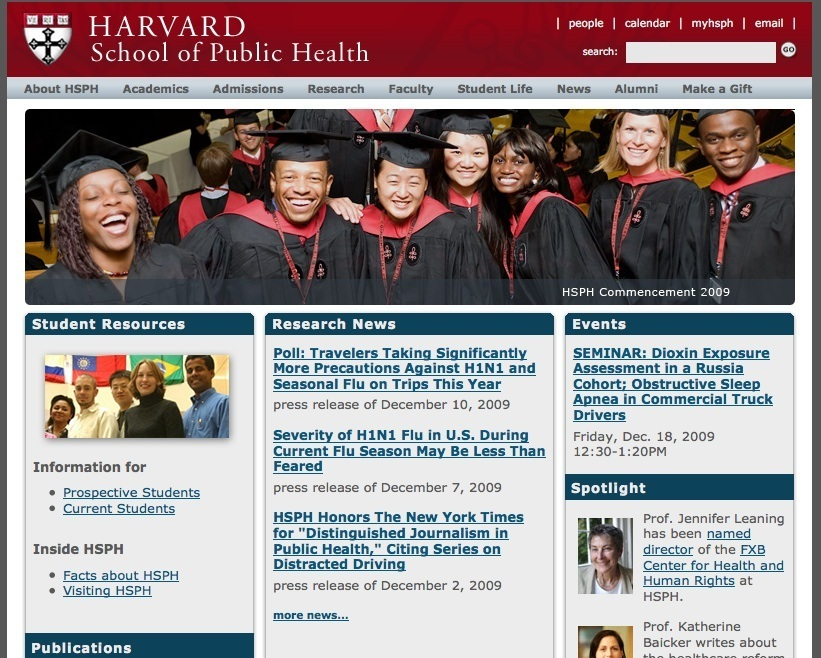 Department of Information Technology | Harvard T.H. Chan School of ...