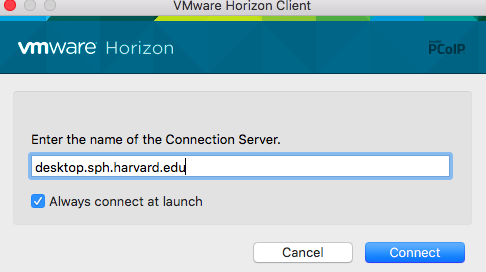 Install VMWare Horizon Client for Mac | Department of