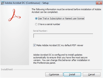 MAC Instructions for using Adobe Acrobat Pro DC   Department
