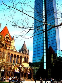 Copley Square - Photo Courtesy of Guddi Singh, MPH-GHP '10