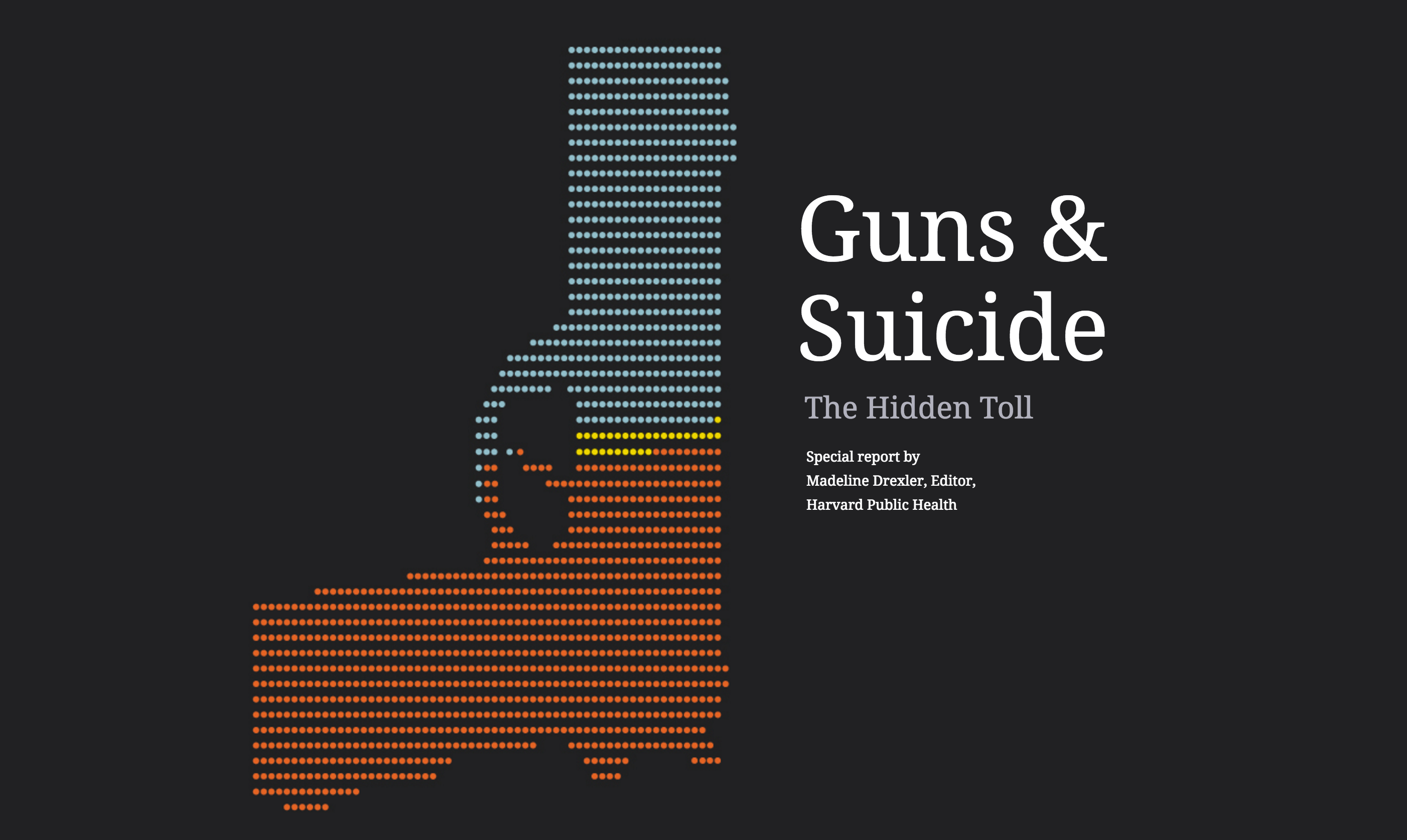 Screen Shot At 39 Am Guns Suicide Harvard Public Health Magazine Chan School Of