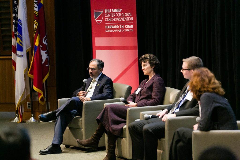 Panel answers questions at symposium