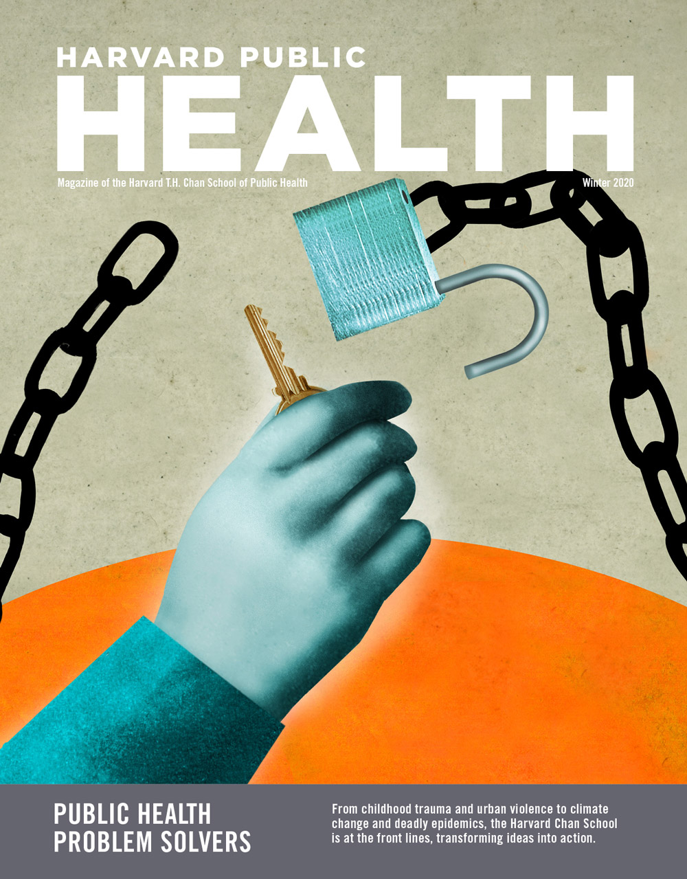 Cover image of Harvard Public Health Winter 2020 Issue