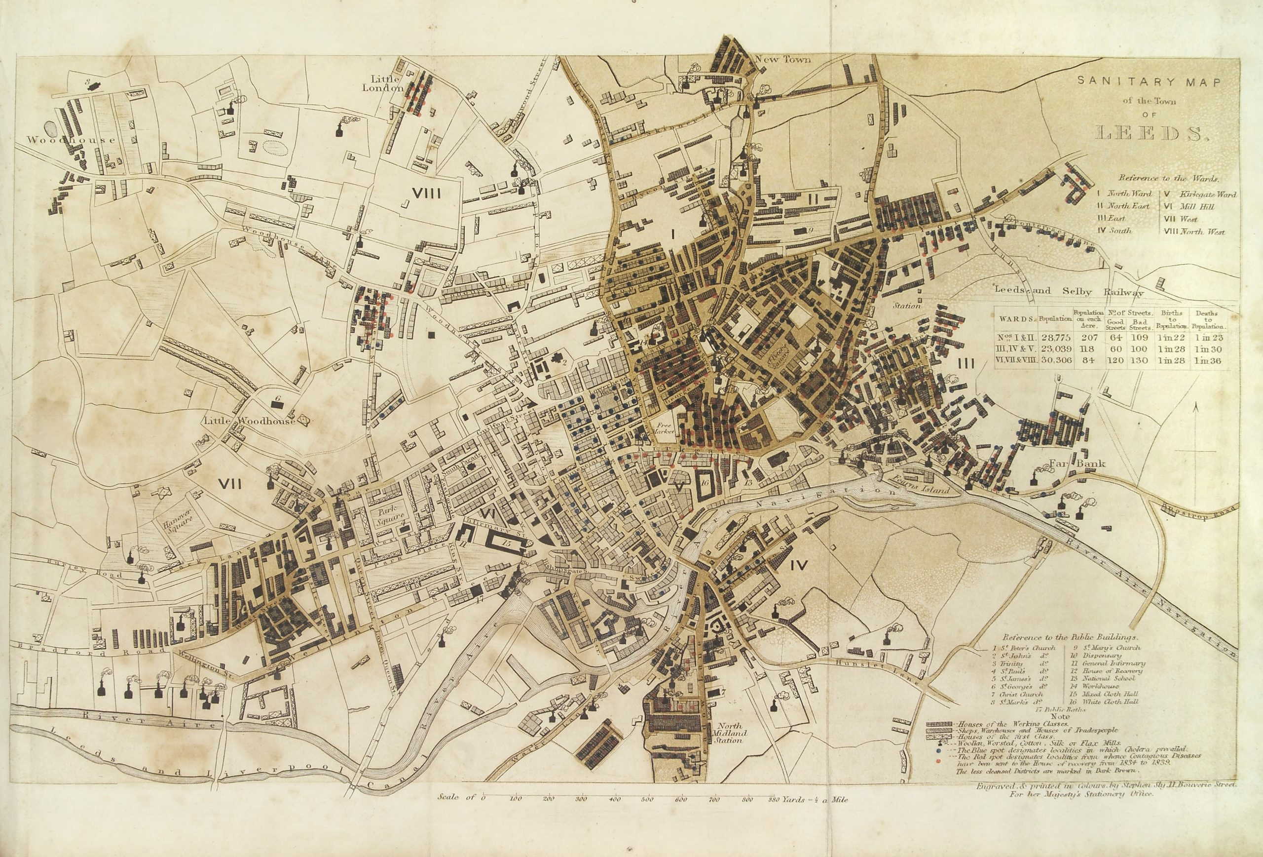 Map from 1800s