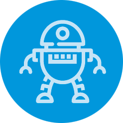 icon of robot