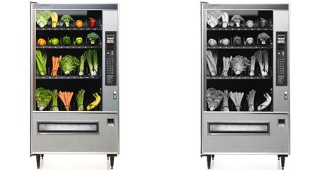 Vegetables vending machines
