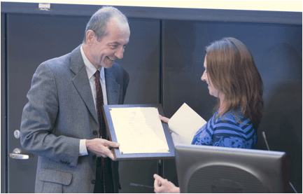 Giovanni Parmigiani Receives Mentoring Award