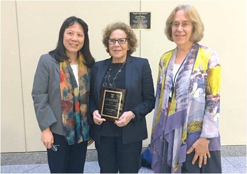 Judith Goldberg Receives Lagakos Alumni Award