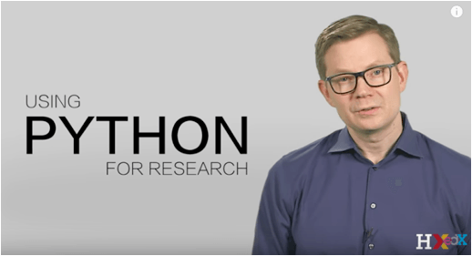 New Online Course – Using Python for Research