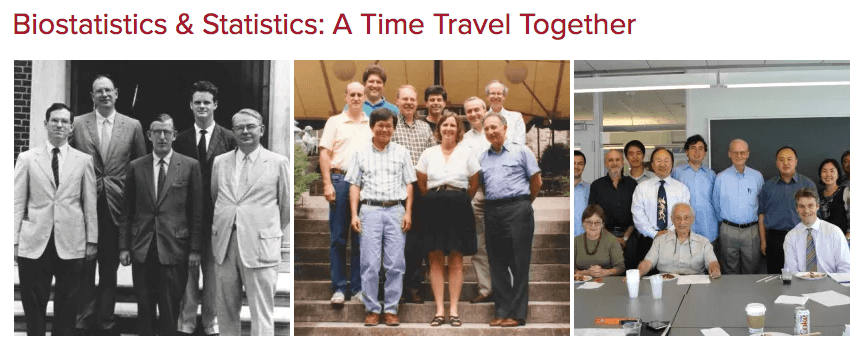 Biostatistics and Statistics Anniversary Event – Friday