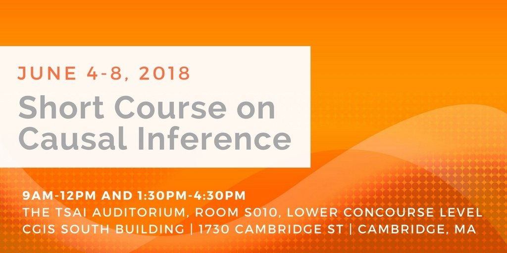 Summer Short Course on Causal Inference