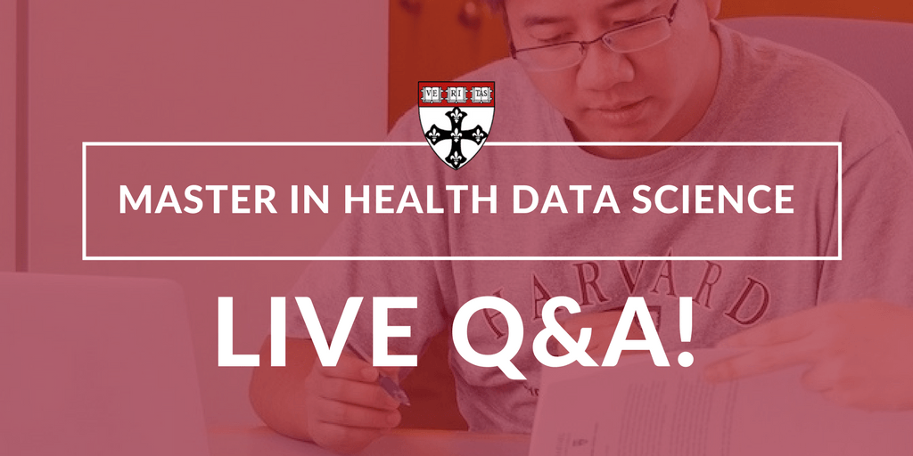 Health Data Science Masters Program Live Q&A – 10/16