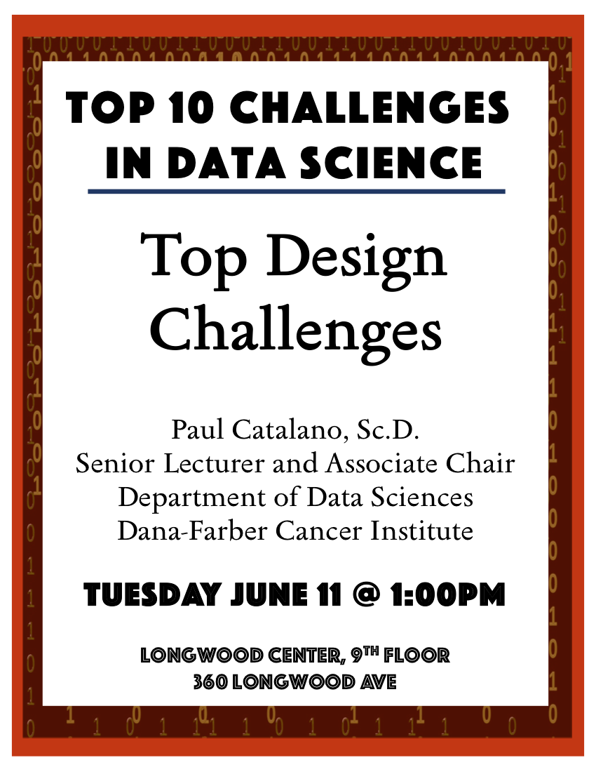 The Top 10 Challenges Of Special >> Top Design Challenges With Paul Catalano 6 11 Department Of