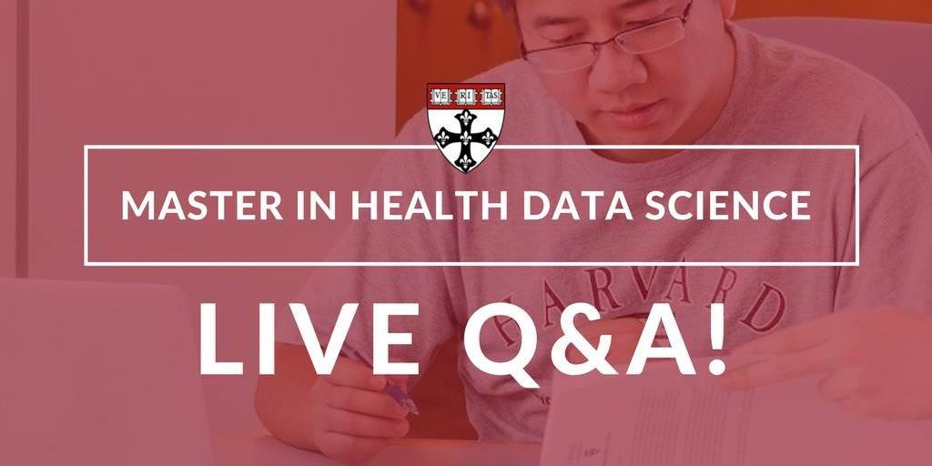 Health Data Science Master's Program – Live Q&A