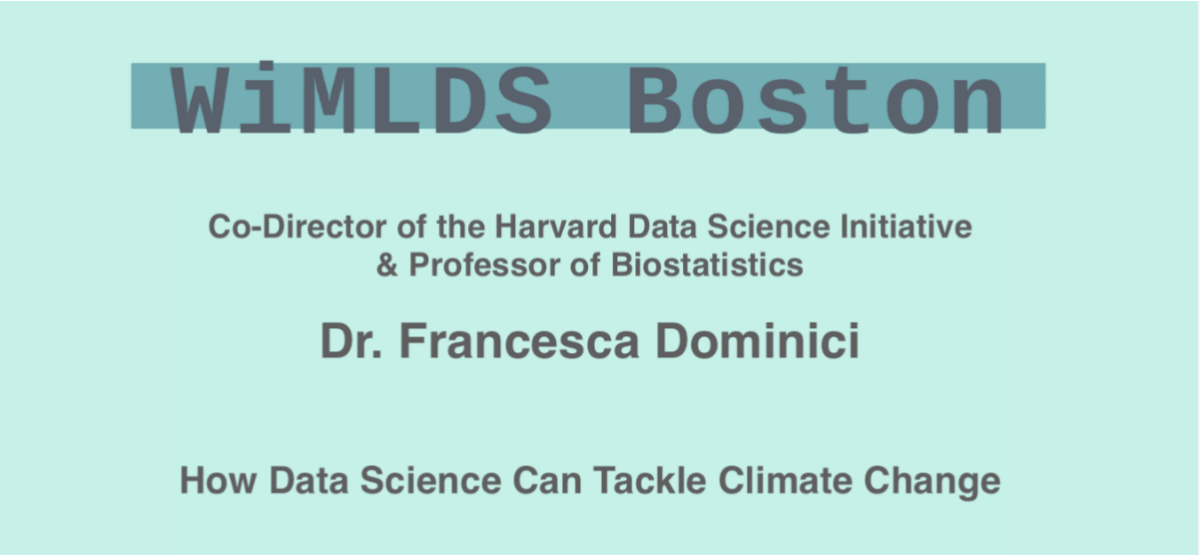 Data Science & Climate Change with Francesca Dominici – 11/12