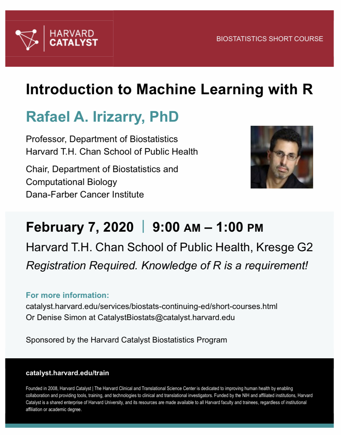 Machine Learning with Rafael Irizarry