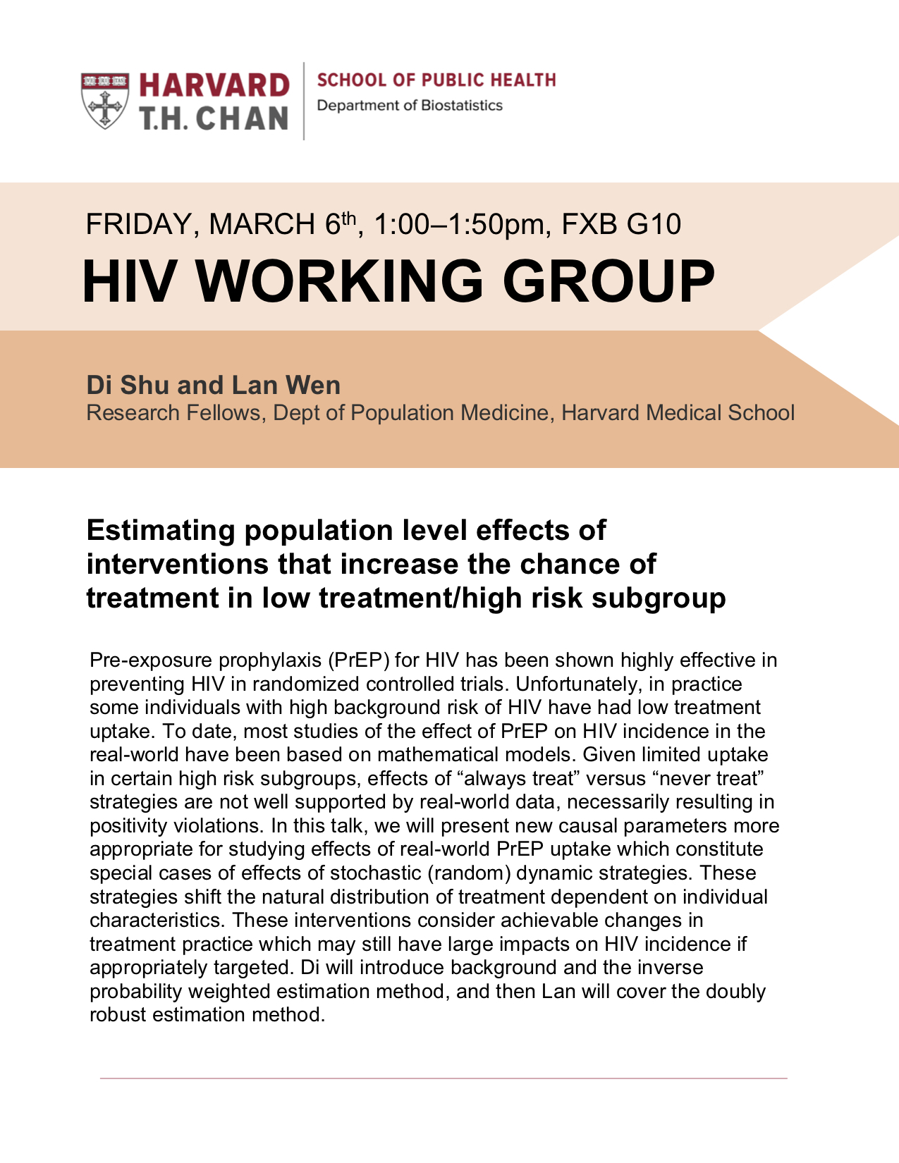 HIV Working group