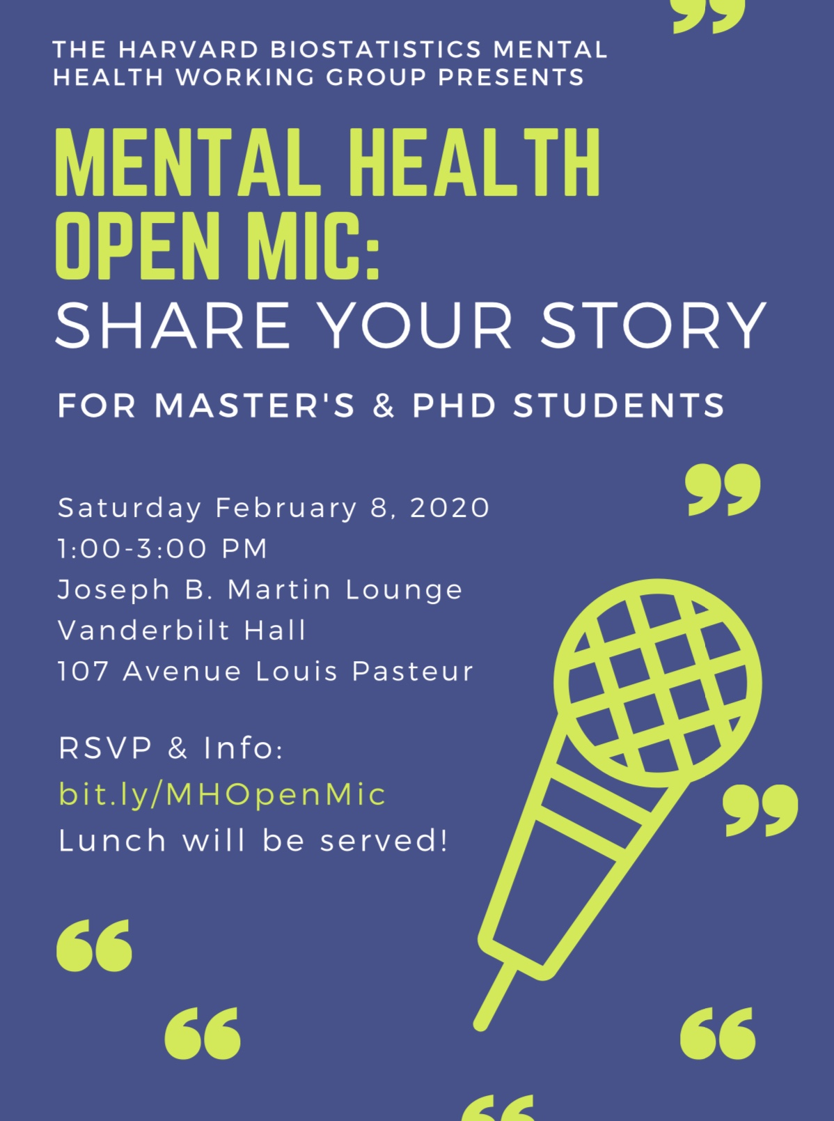 Mental Health Open Mic
