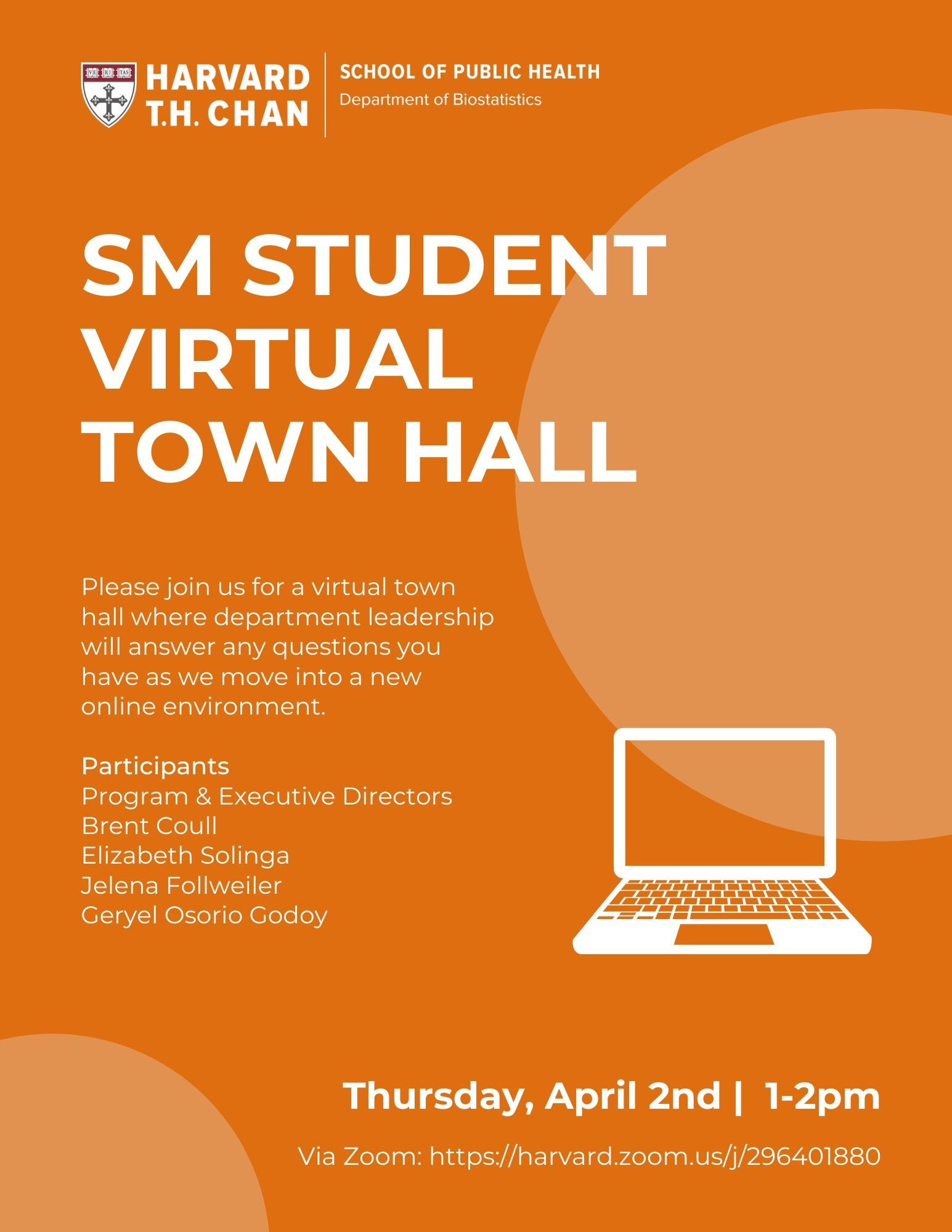 SM Student Town Hall