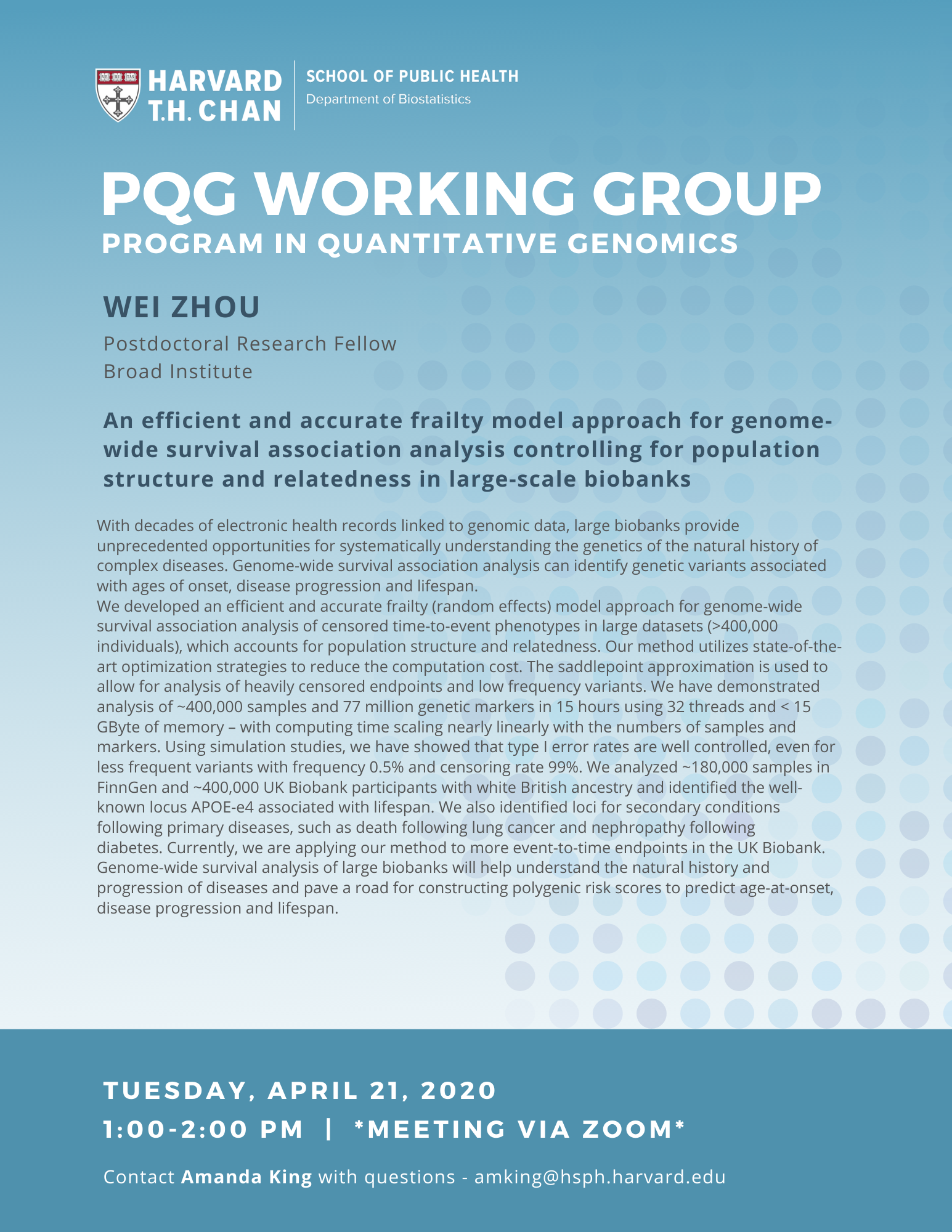 PQG Working Group