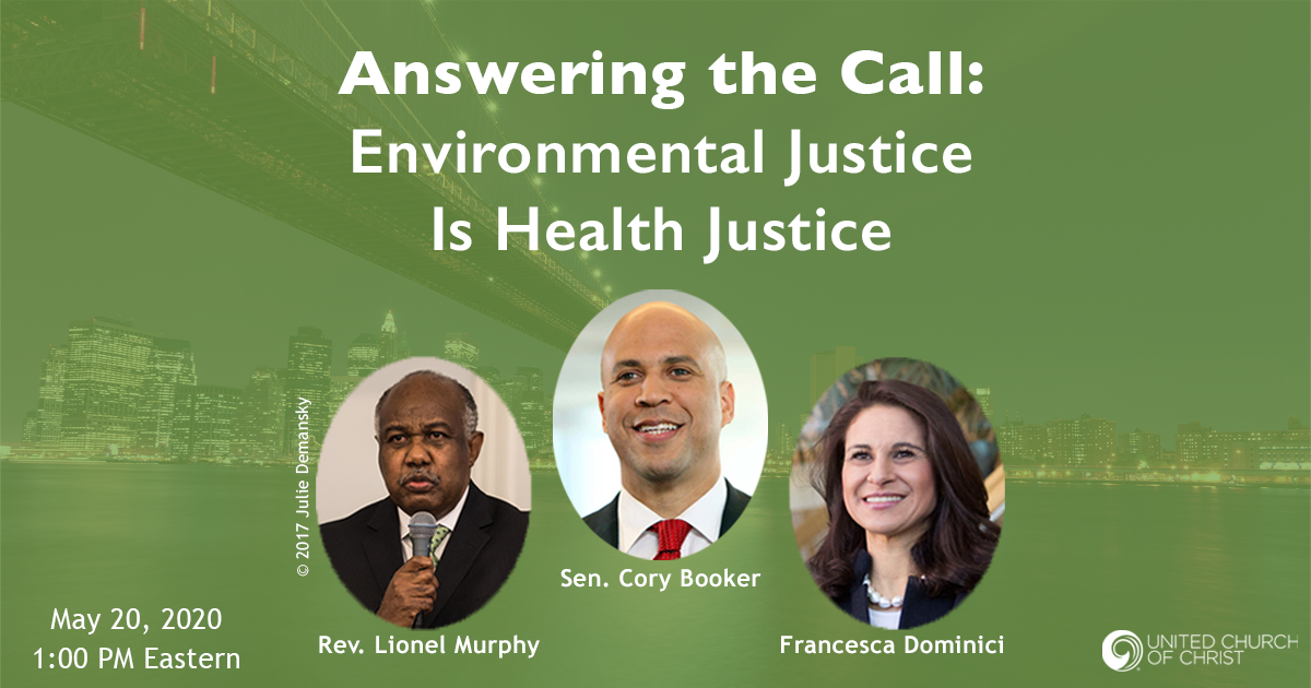 Environmental Justice is Health Justice: Webinar with Francesca Dominici & Cory Booker