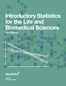 Introductory Statistics for the Life and Biomedical Sciences textbook