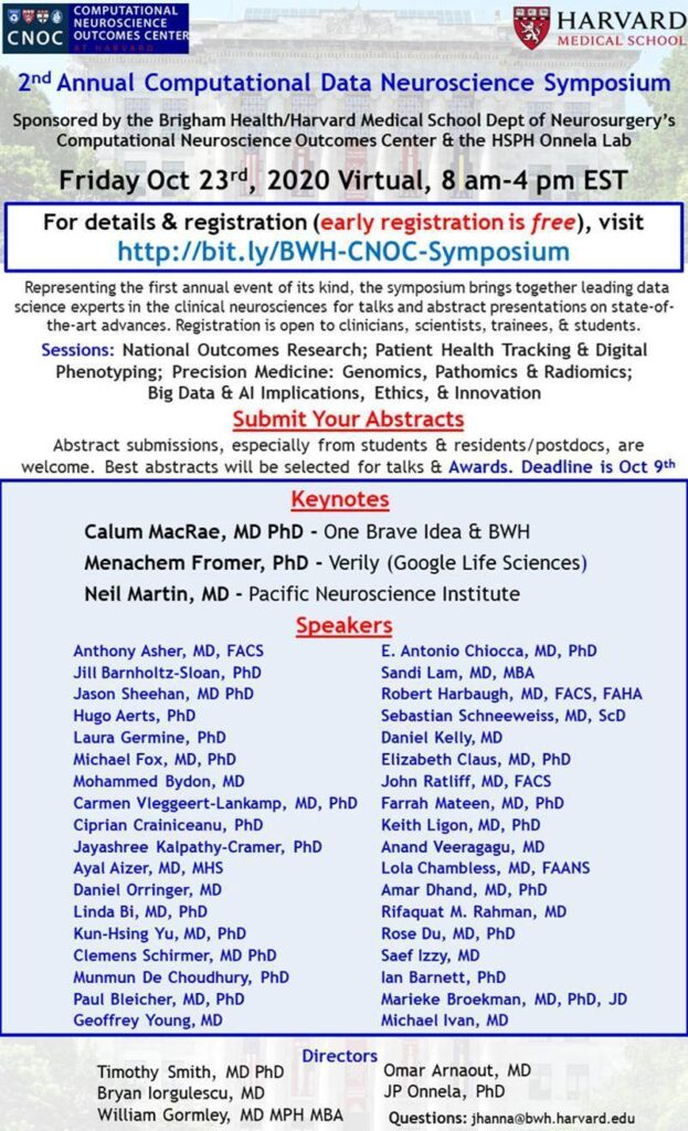 Computational Data Neuroscience Symposium
