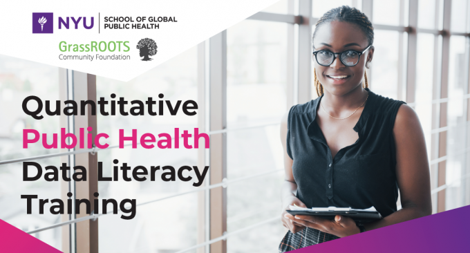 Quantitative Public Health Data Literacy Training