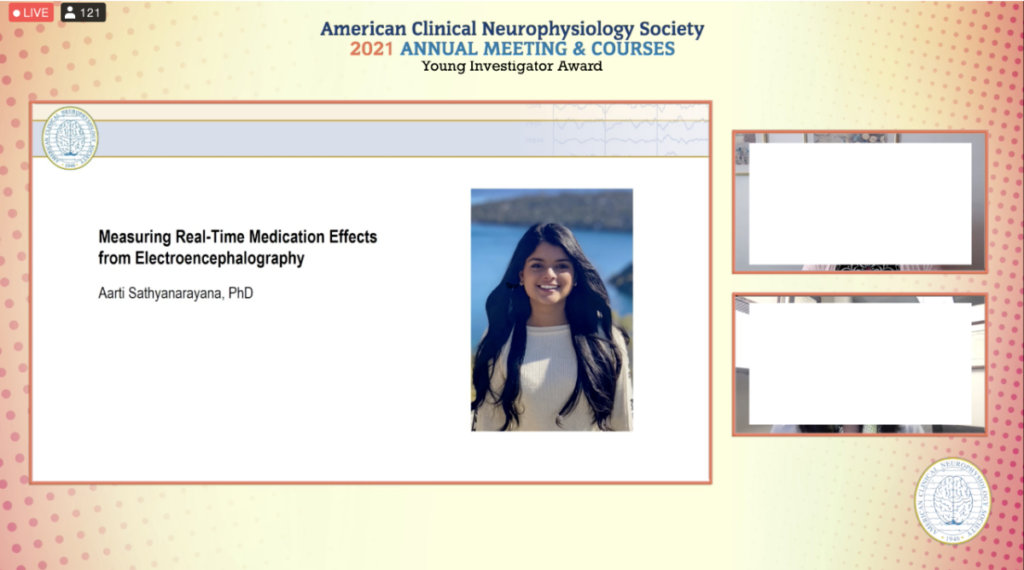 Young Investigator Award from the American Clinical Neurophysiology Society