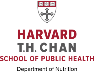 Logo for the Department of Nutrition at the Harvard T.H. Chan School of Public Health