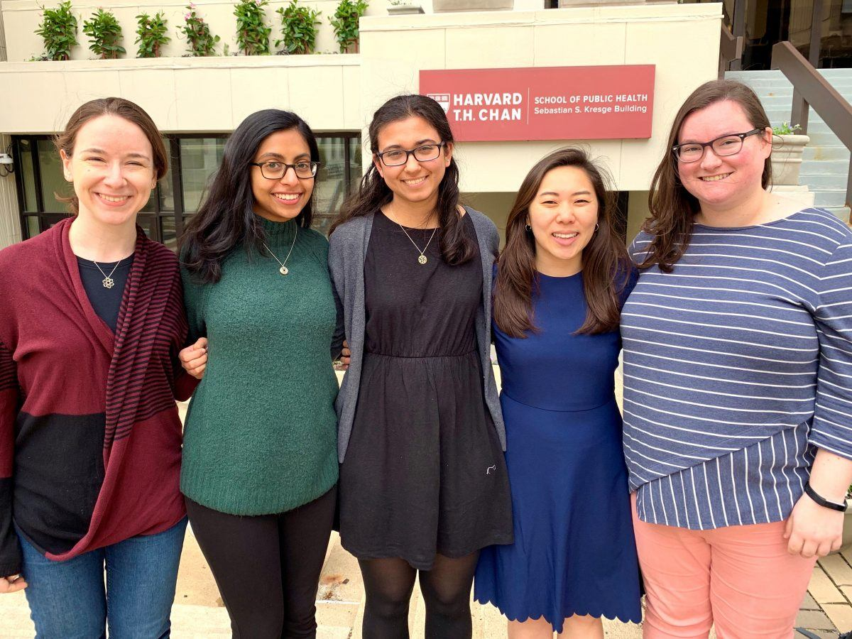 Five HSB students awarded Rose Service Learning Fellowships