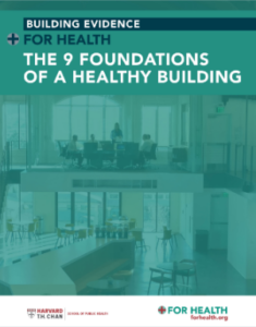 The 9 Foundations of a Healthy Building report cover