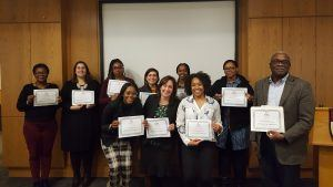 Group of professionals who participated in the 2018 Leaders in Health cohort
