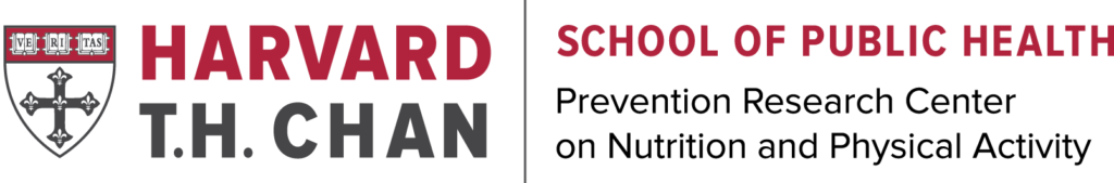 Harvard T.H. Chan School of Public Health Prevention Research Center on Nutrition and Physical Activity logo