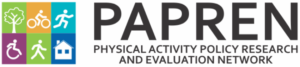 Physical Activity Policy Research and Evaluation Network (PAPREN) logo
